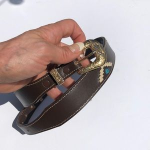 Nocona Western small belt
